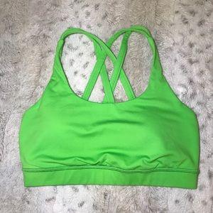 🔥NEW Lululemon Energy Bra in Lime Green 4